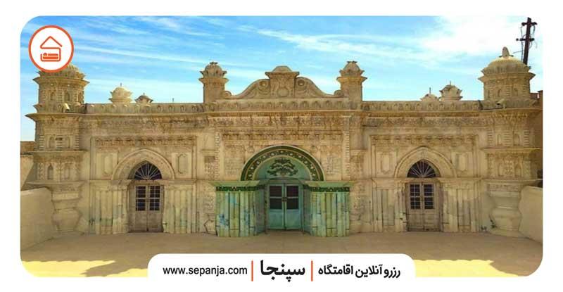 نمایی از مسجد رنگونی های آبادان