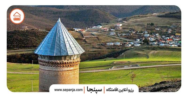 نمایی از جاهای دیدنی شهر ساری