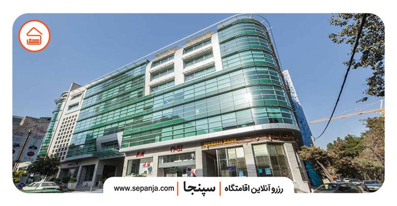 نمایی از مرکز خرید مدرن الهیه