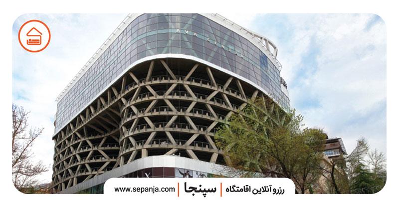 نمایی از یکی از مراکز خرید شرق تهران
