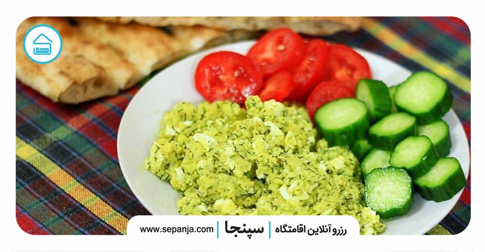 صبحانه-در-شهرهای-شمالی-ایران