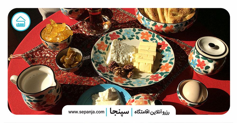 صبحانه-در-شهرهای-شمال-غرب-ایران