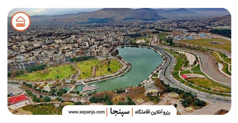 نمایی از طبیعت و جاهای دیدنی شهر خرم آباد
