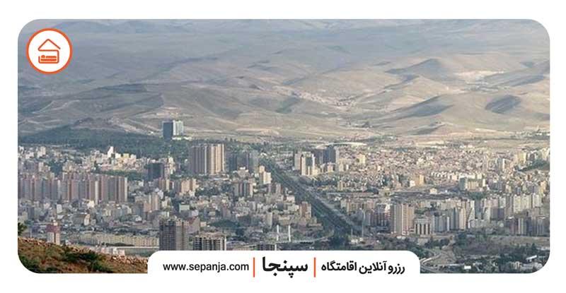 نمایی از شهر کرمان و همه آنچه باید بدانید