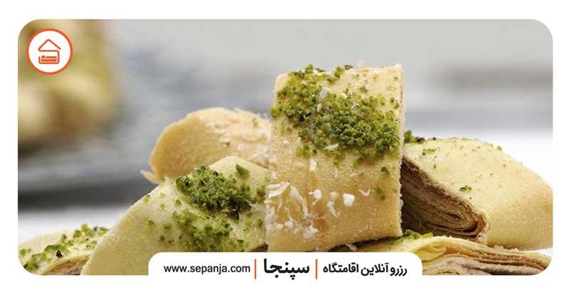 شیرینی کاک یکی از خوشمزه ترین سوغات خرم آباد