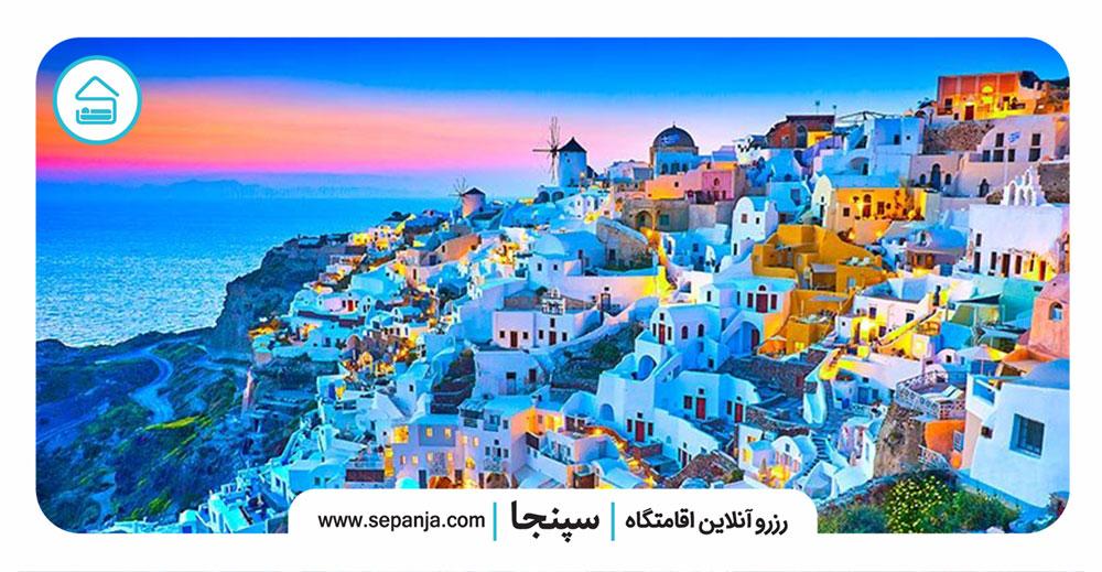 جزیره-سانتورینی-Santorini،-یکی-از-زیباترین-جزایر-دنیا
