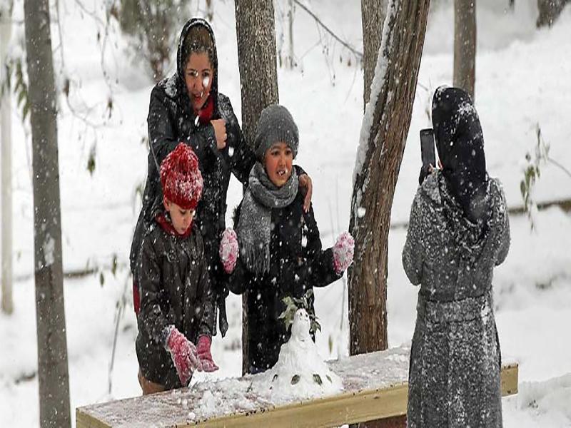 بهترین مکان های برف بازی تهران