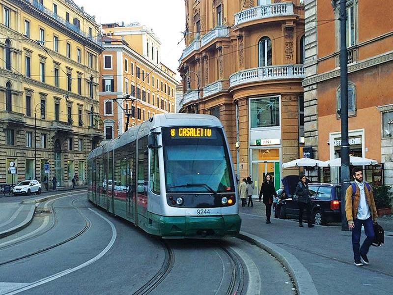 حمل و نقل در رم