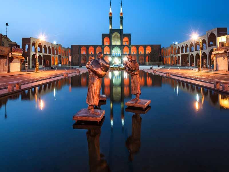 بهترین مکان های تاریخی یزد