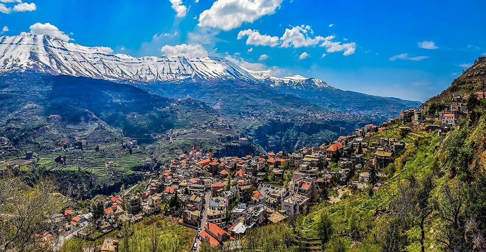 موقعیت جغرافیایی لبنان