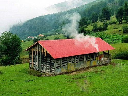 اقامتگاههای بومگردی در ماسال