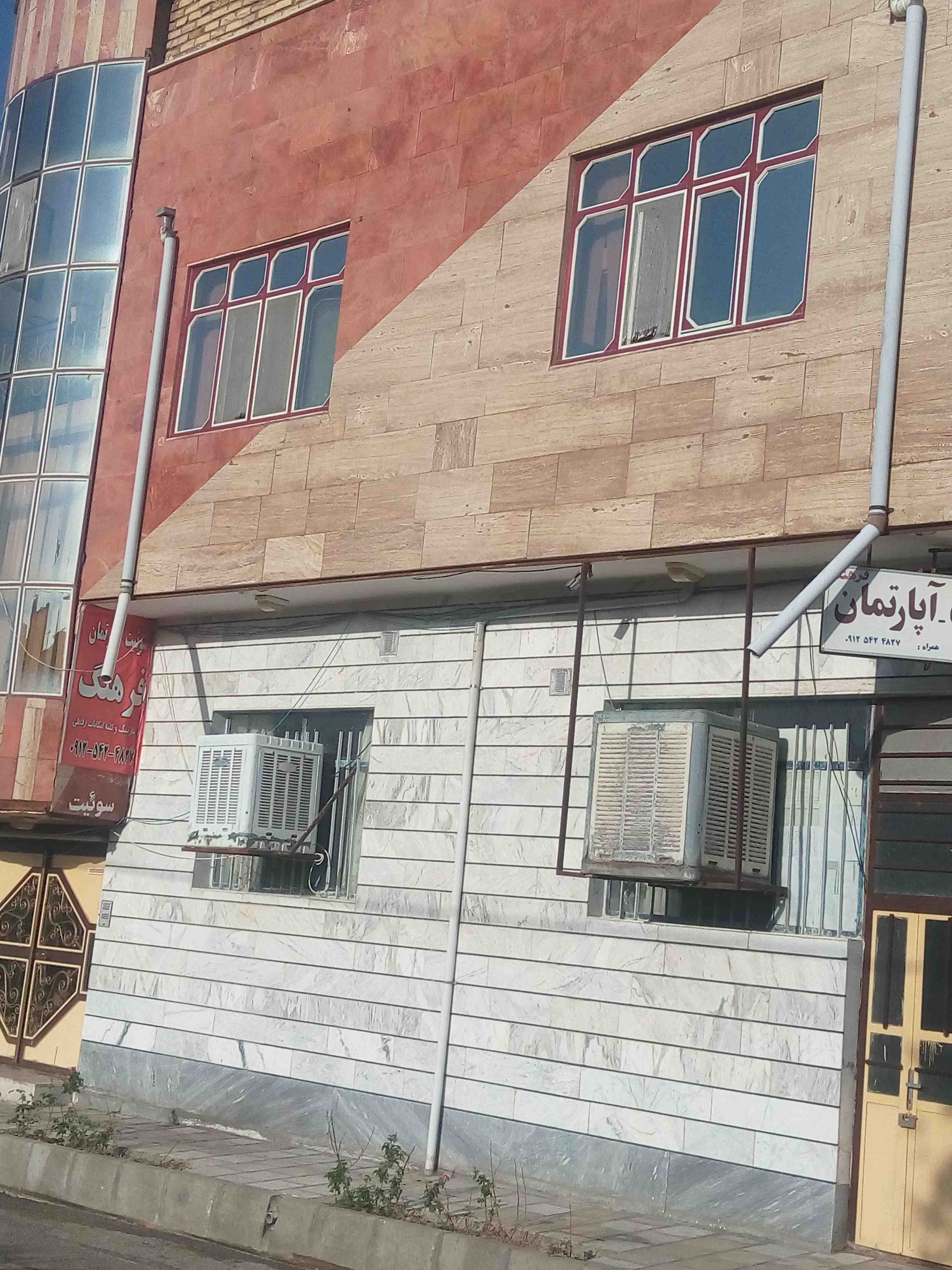 شهری آپارتمان مبله دربست در گرماب زنجان