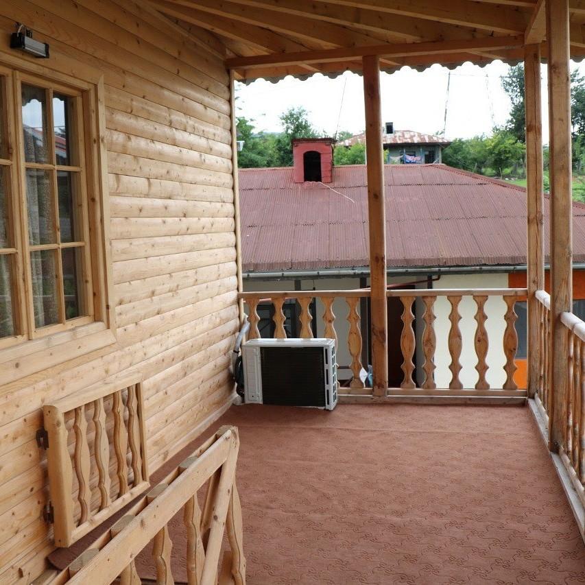 بوم گردی خانه چوبی در گلسرک رشت