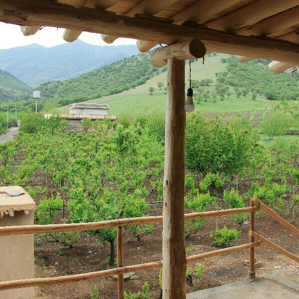 Eco-tourism اقامتگاه سنتی در قلعه سنگی خرم آباد - 8
