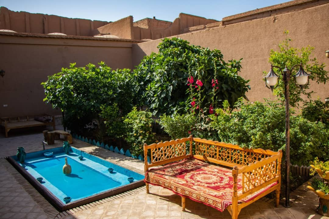 بوم گردی اقامتگاه بومگردی در فهادان یزد - اتاق کاه گلی