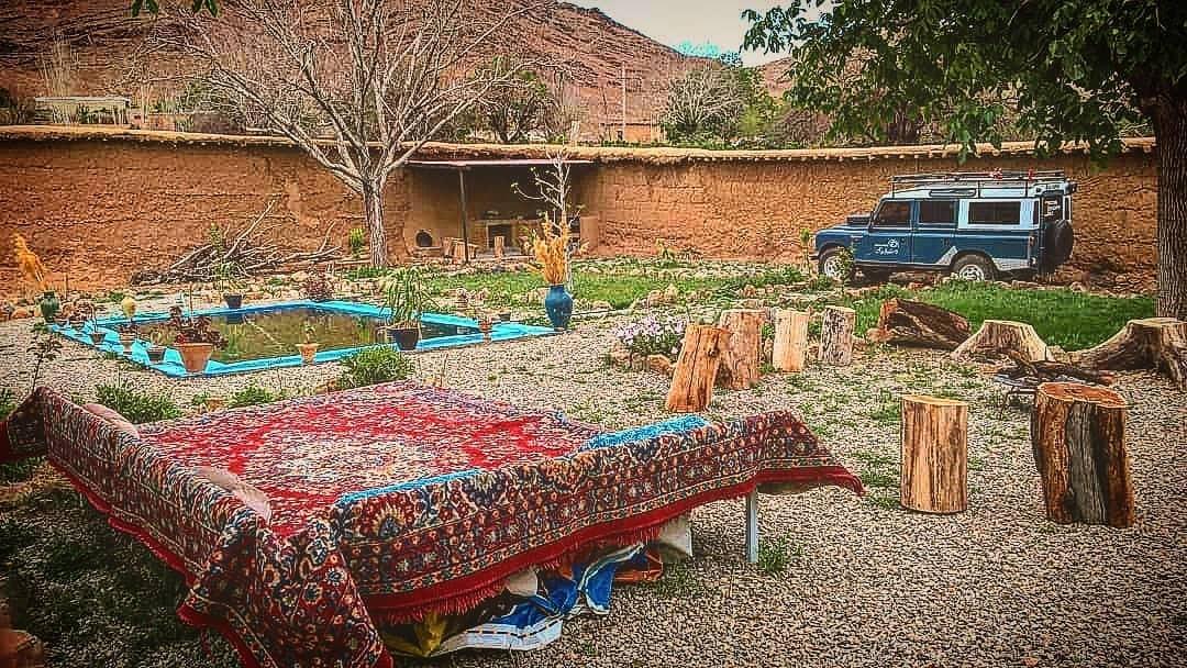 بوم گردی خانه سنتی در بوانات-دراک