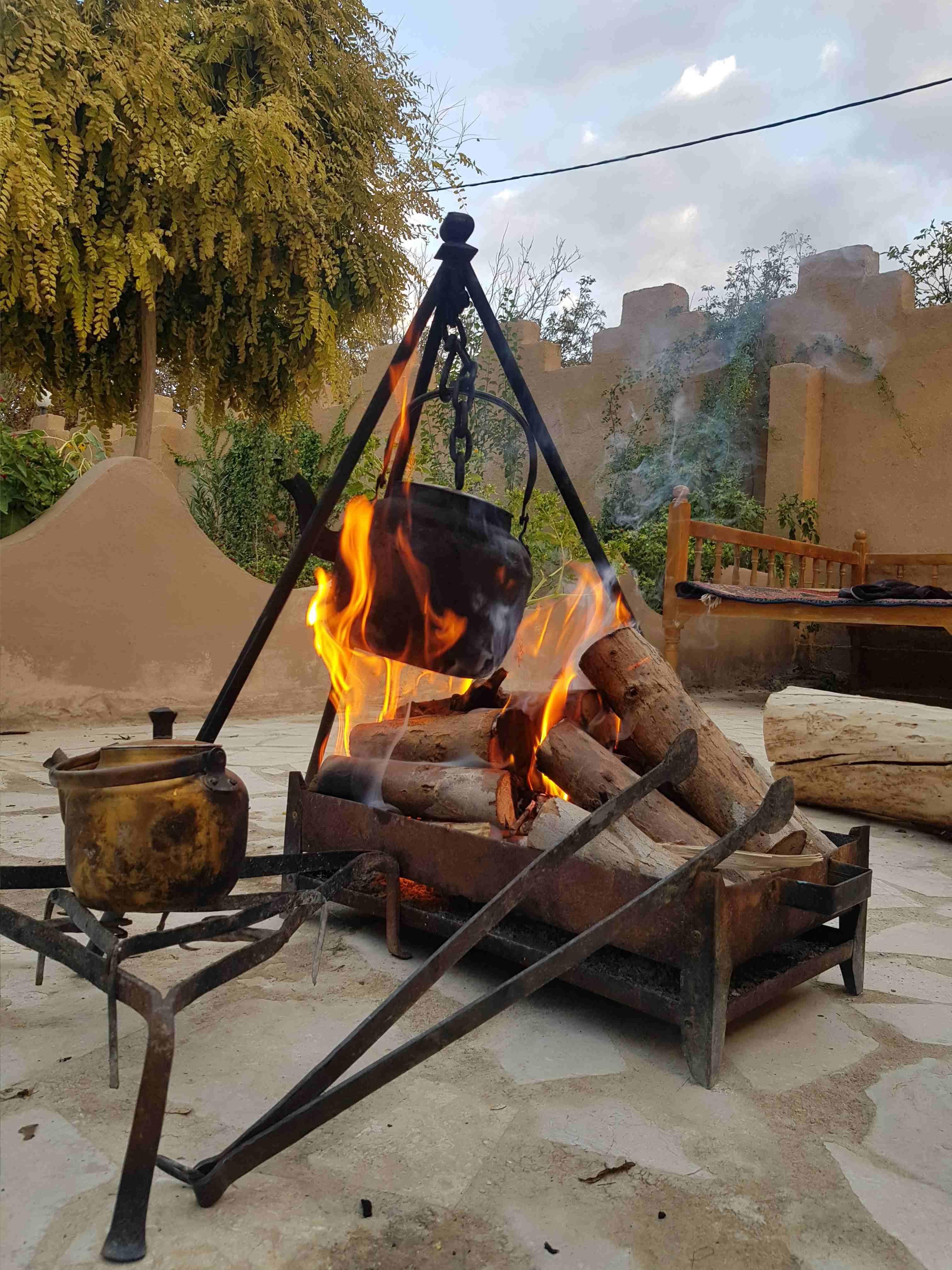 بوم گردی اتاق سنتی در باقرآباد _ اتاق عمو حاجی2