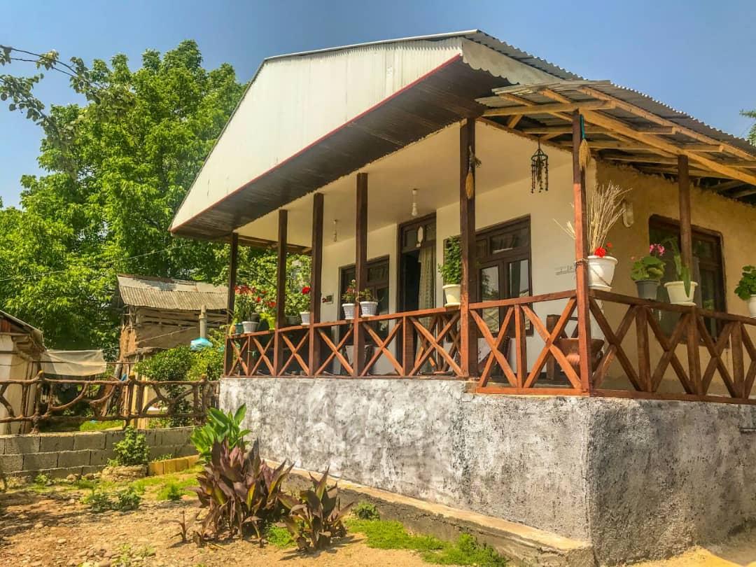 روستایی خانه چوبی در روستای حلیمه جان