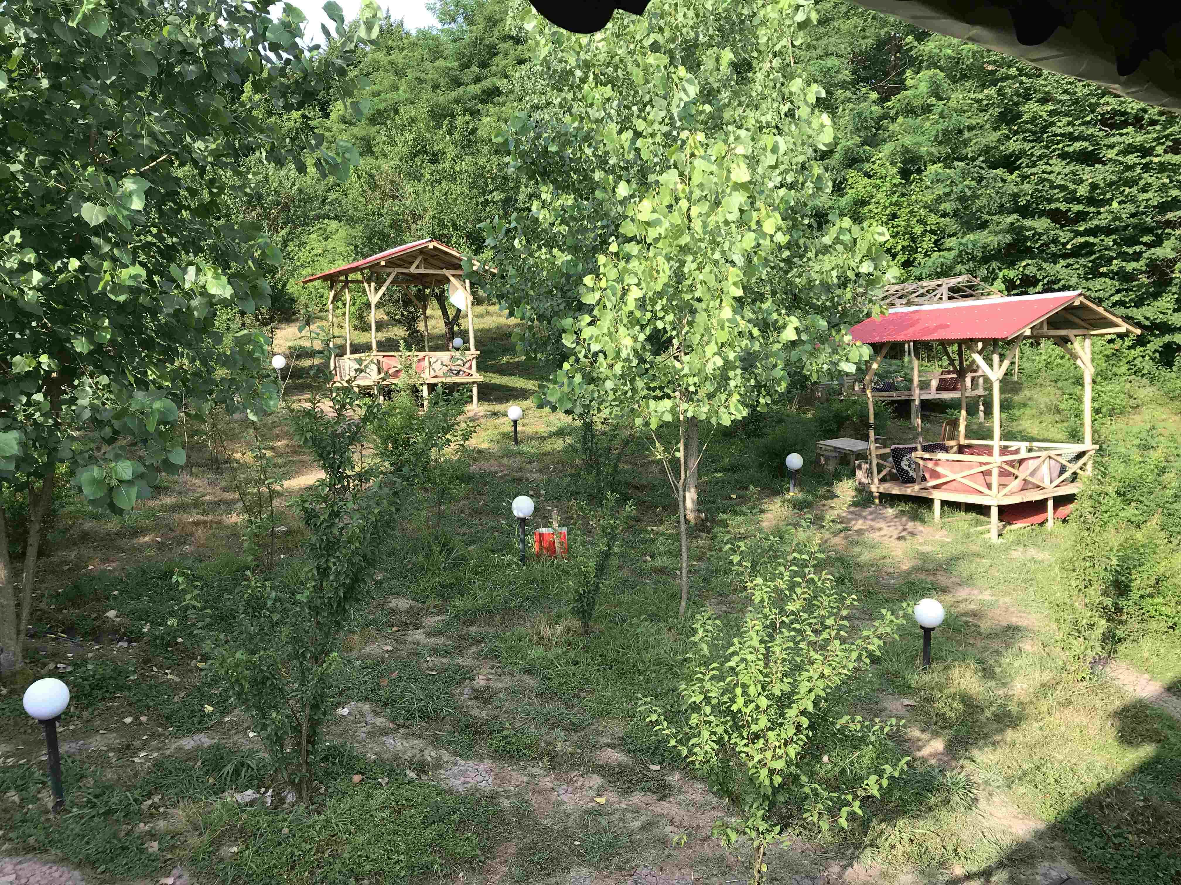 Forest کلبه چوبی جنگلی در کندلات رودبار