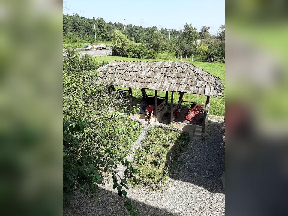 جنگلی خانه سنتی در سراوان رشت