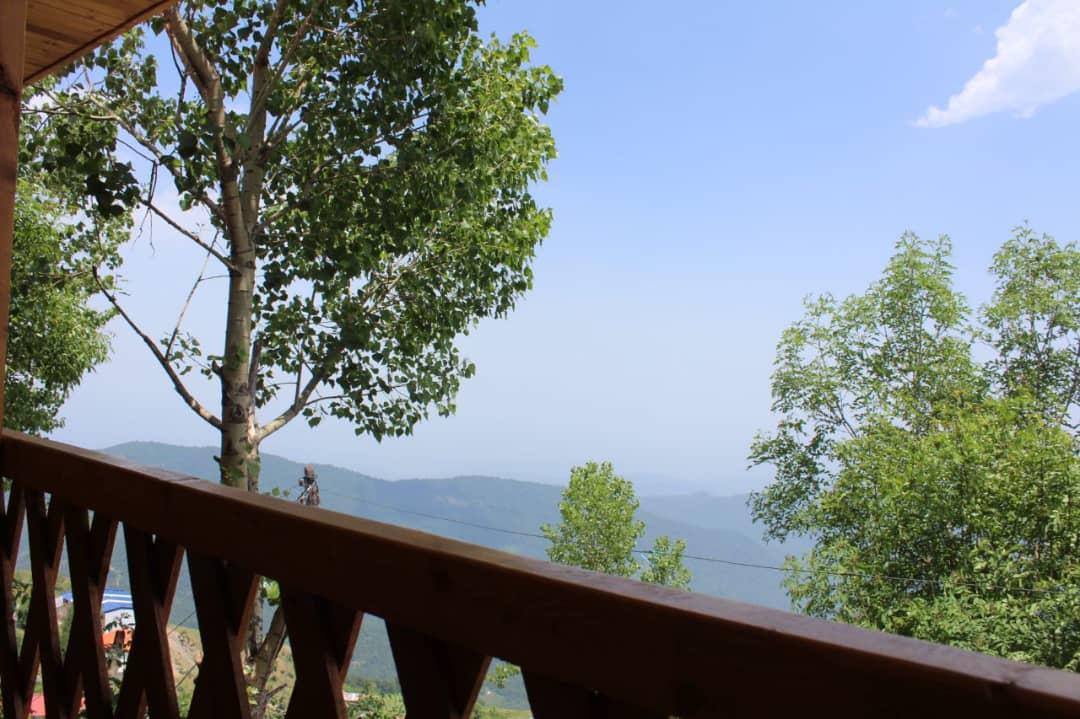 کوهستانی کلبه چوبی تراس دار در فیلبند - 4