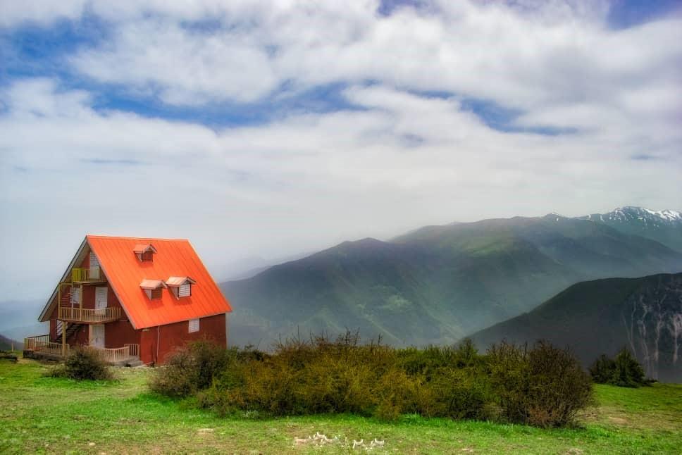 Mountainous کلبه ییلاقی کوهستانی در رودبار