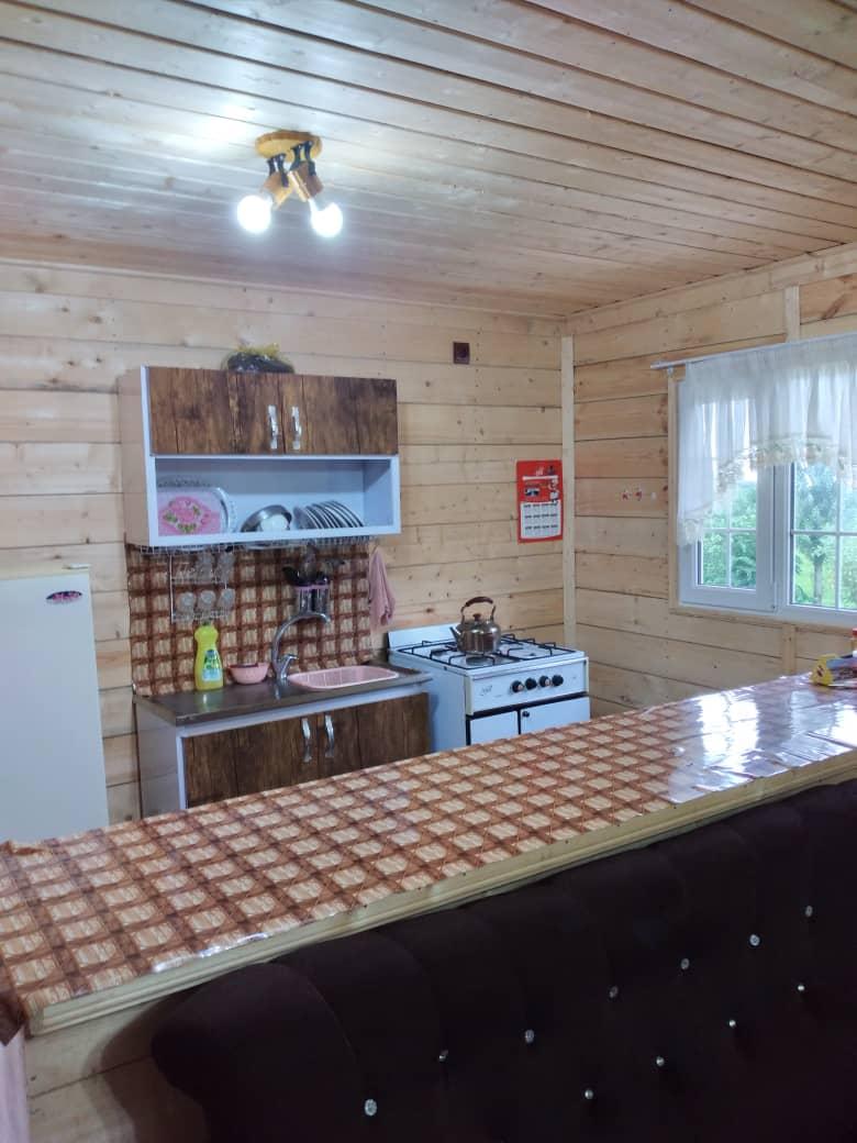 جنگلی کلبه چوبی جنگلی در مرکیه ماسال
