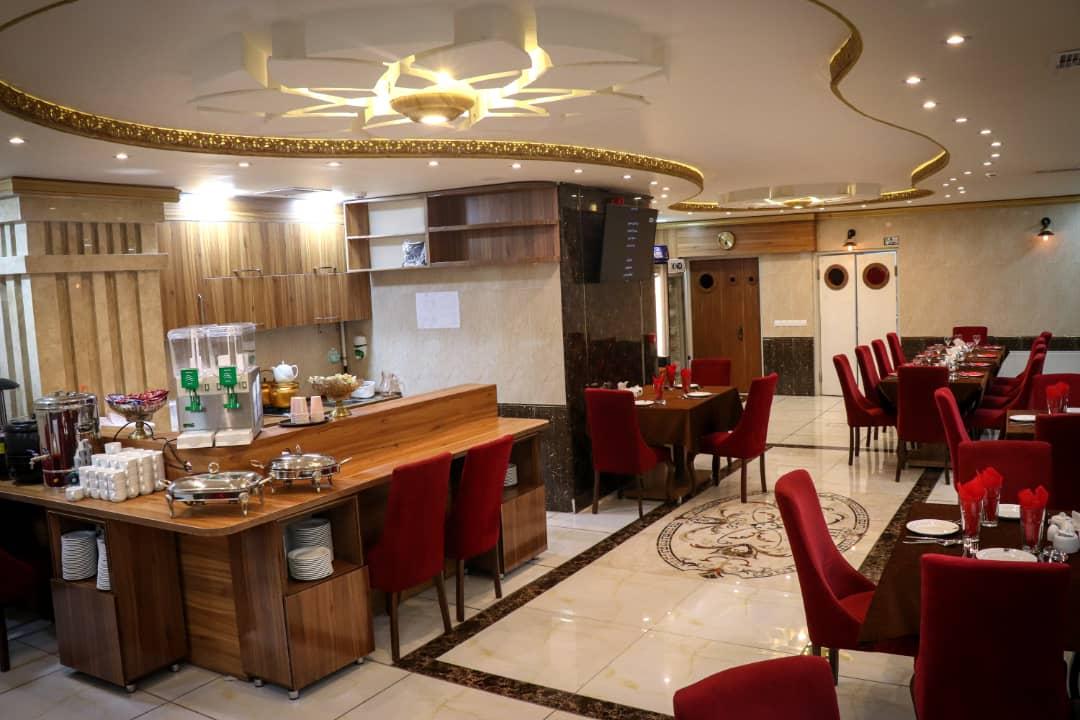 درون شهری هتل آپارتمان بهادری تبریز