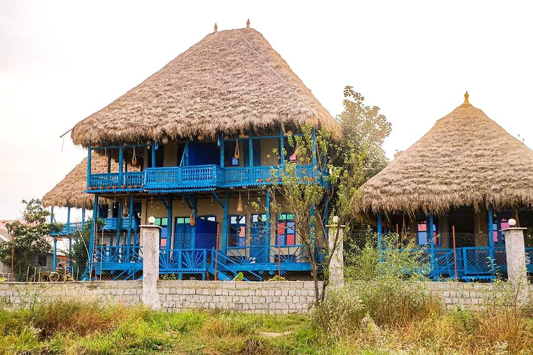 Eco-tourism اقامتگاه بومگردی در میان پشته رودسر