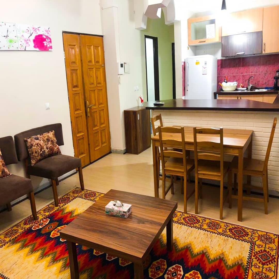 شهری آپارتمان مبله در شهرک صدف کیش - فاز3