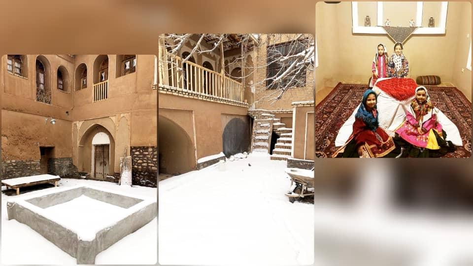 Eco-tourism خانه سنتی در طامه نطنز - ذبیح الله