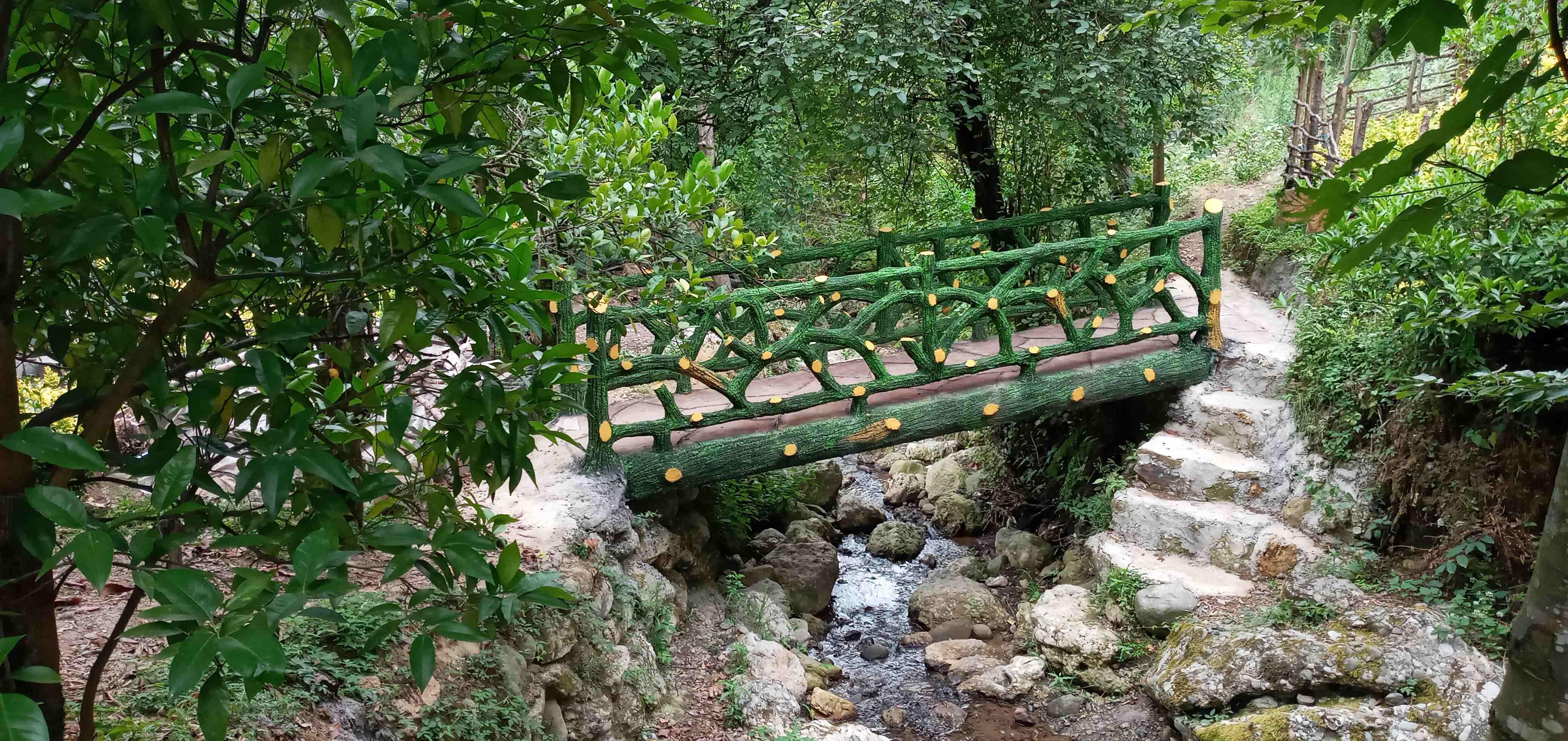 جنگلی منزل ویلایی لب رودخانه رامسر