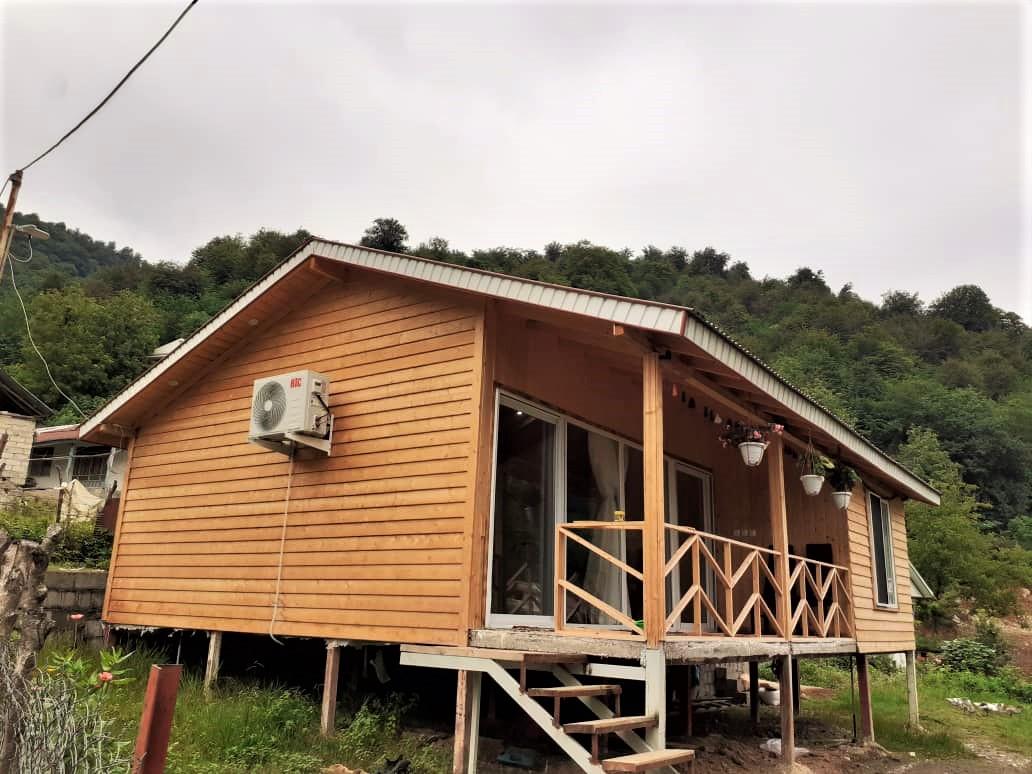 جنگلی کلبه چوبی جنگلی در ورمیه ماسال