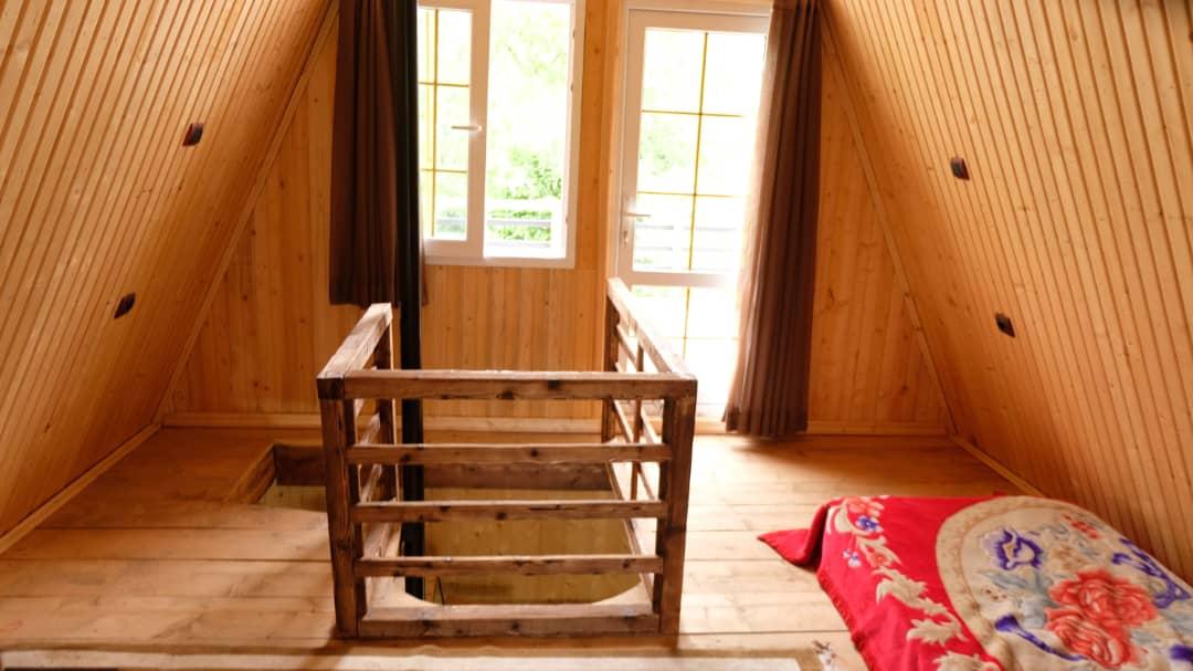 جنگلی کلبه چوبی جنگلی در لیپا ماسال