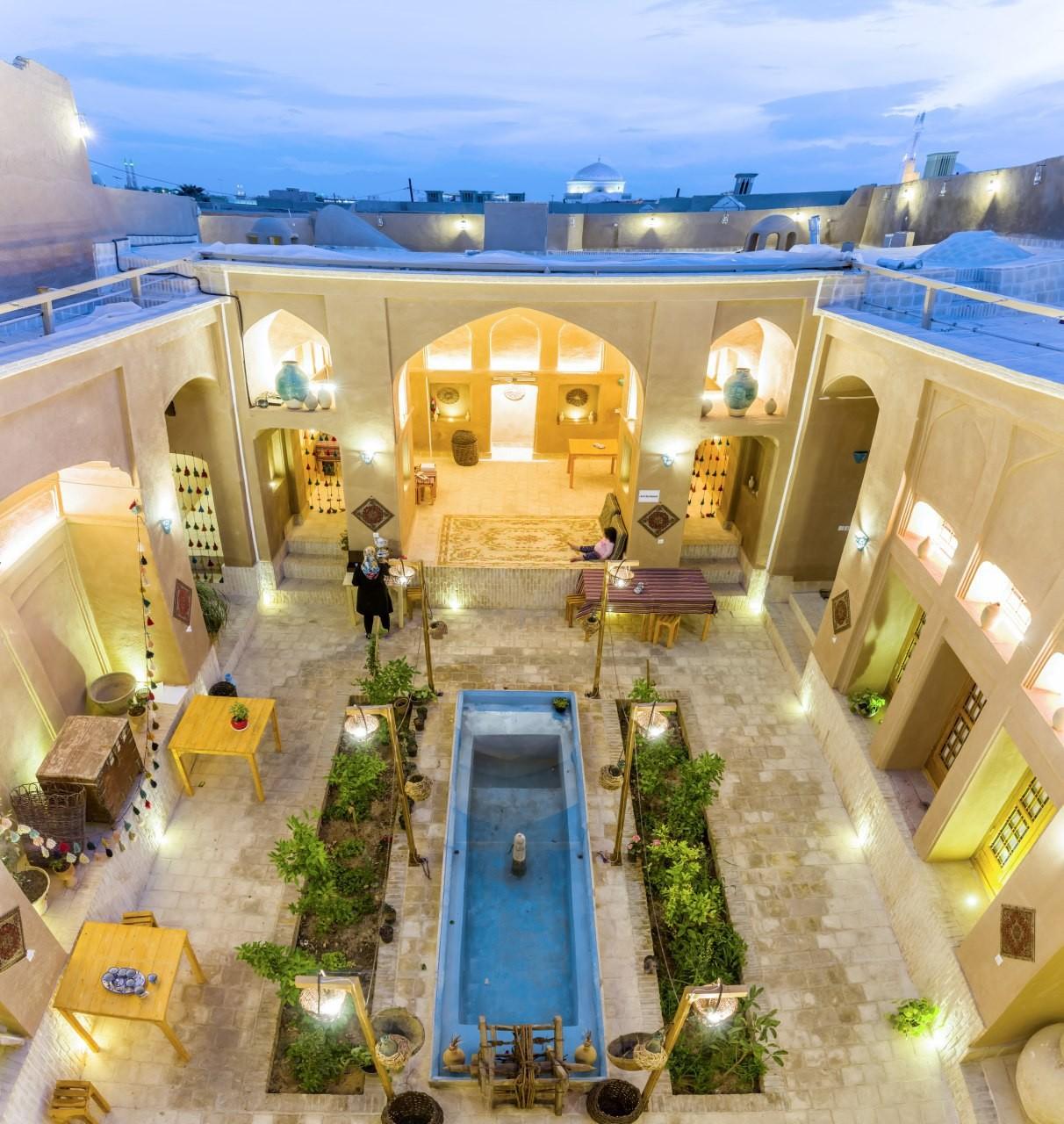 شهری خانه سنتی در شهداد یزد - استراحتگاه حافظ