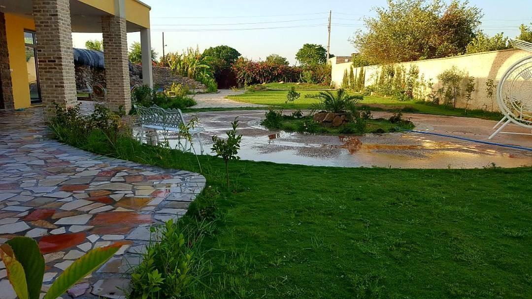 Village باغ ویلای سوپر لوکس و سنتی - چادر باف در شمس آباد