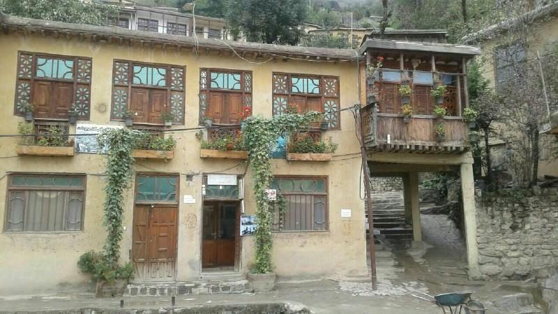بوم گردی خانه سنتی در ماسوله