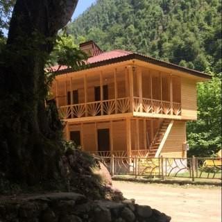 Eco-tourism ویلای چوبی تمیز درماسال