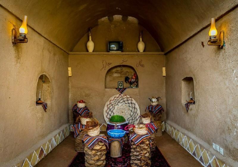 بوم گردی اقامتگاه بومگردی سنتی در کریت طبس _ اتاق 7