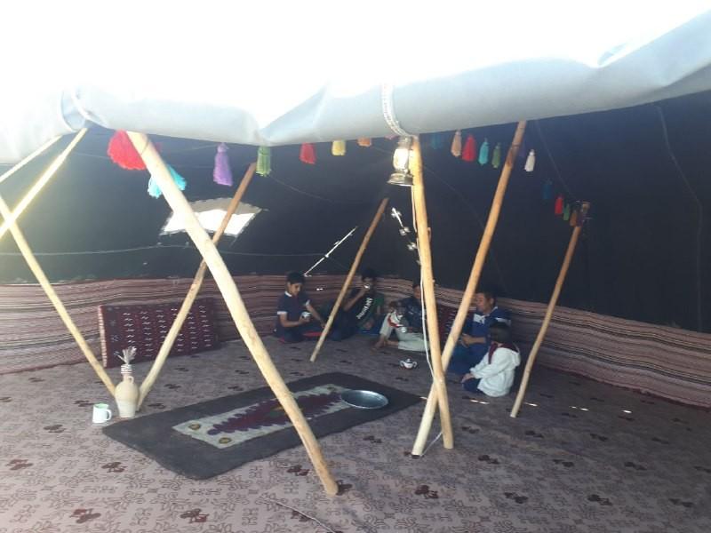 بوم گردی اقامتگاه سنتی در اطراف مشهد سیاه چادر