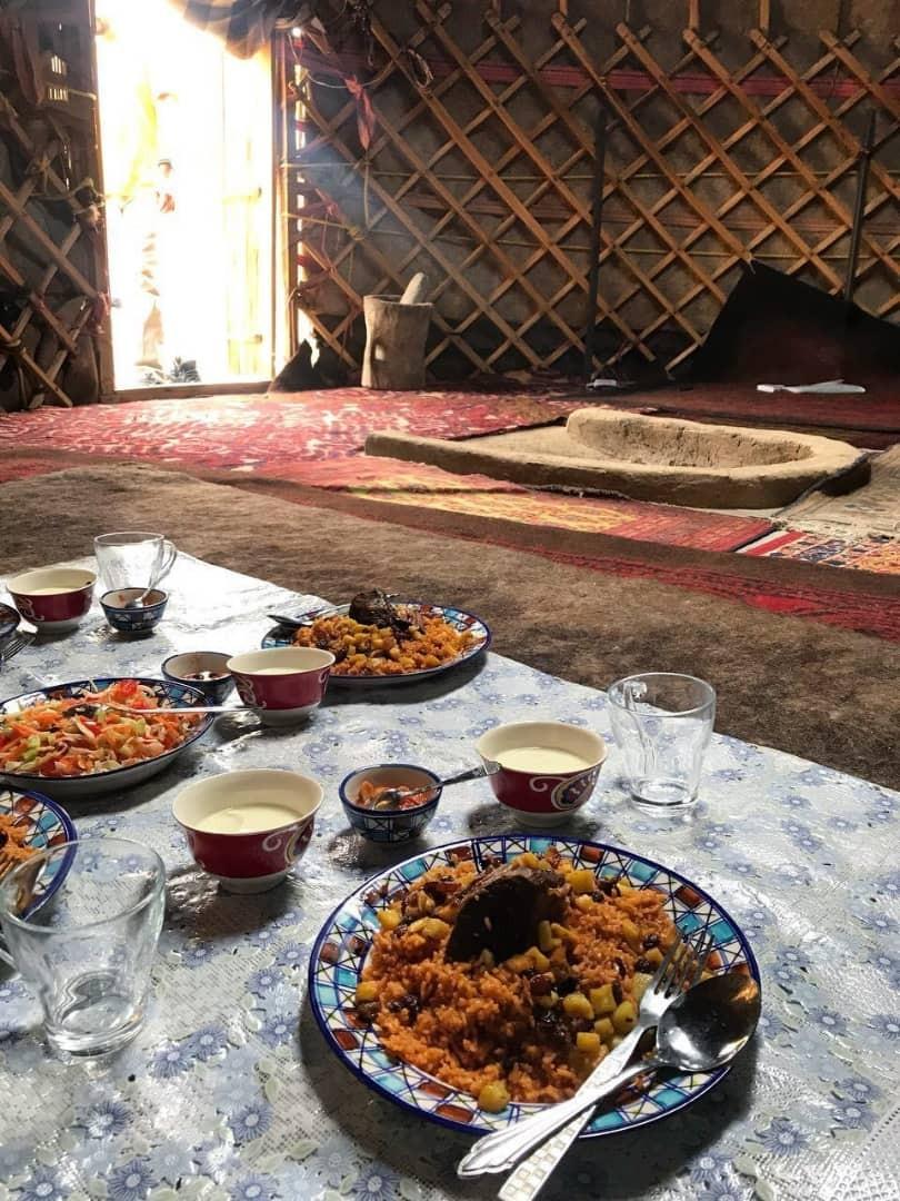 بوم گردی بومگردی سنتی در حومه کلاله -عاشوری اتاق 5