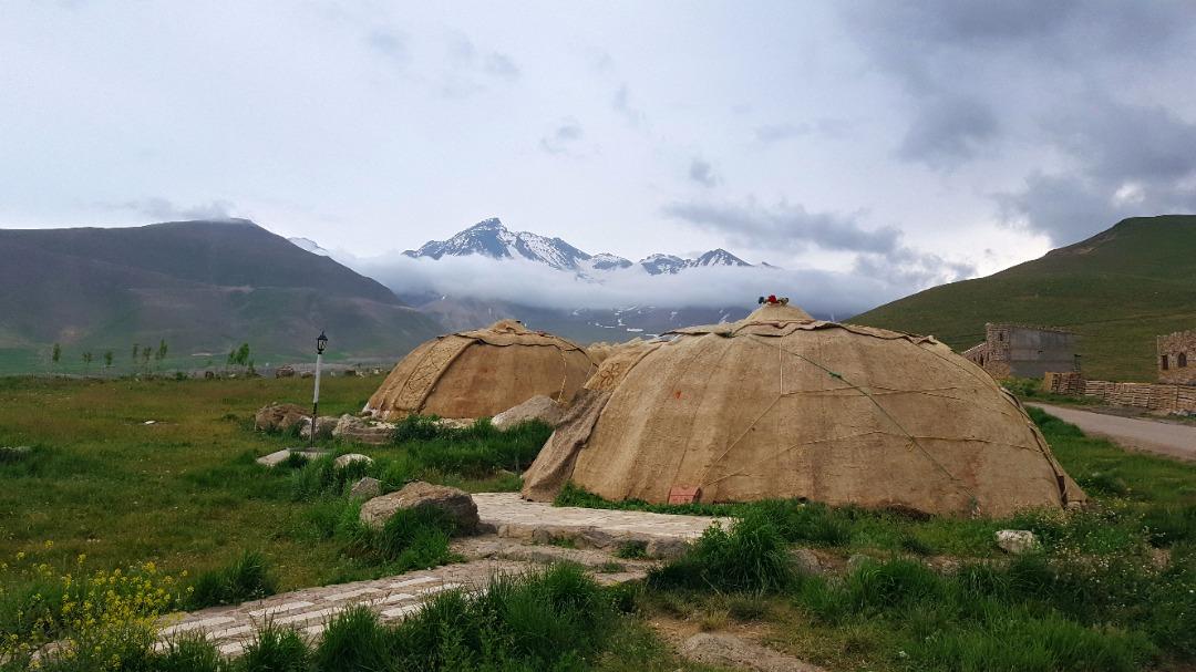 کوهستانی چادرعشایری قینرجه مشگین شهر - 1