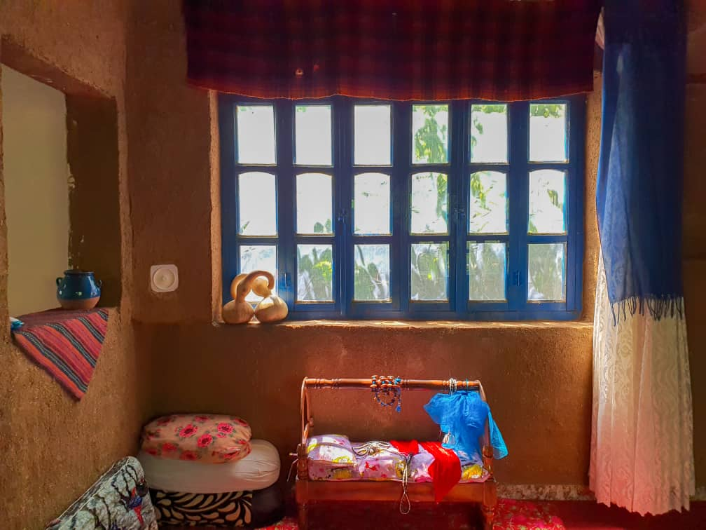 Eco-tourism بومگردی سنتی دو خواب در مریوان - نشینگه بنار اتاق 3