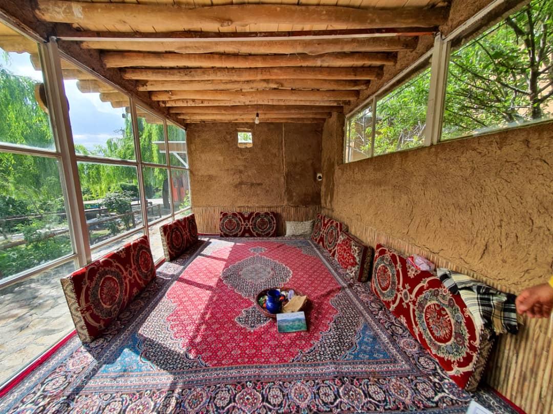 Eco-tourism استراحتگاه روستایی در مریوان کردستان - نشینگه بنار اتاق 5