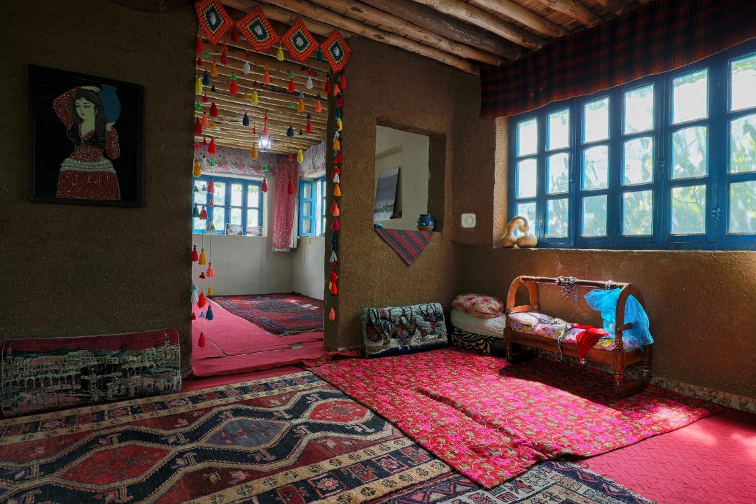 Eco-tourism استراحتگاه روستایی در مریوان کردستان - نشینگه بنار حیاط دار