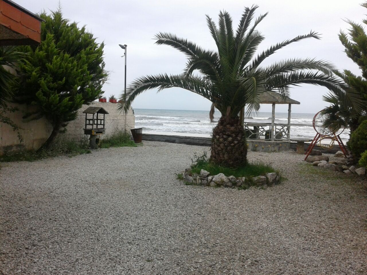 ساحلی ویلا ساحلی با استخر سرپوشیده خط هشت چالوس - ارکیده