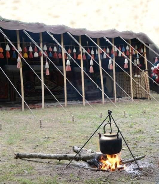بوم گردی اقامتگاه سنتی در ارسنجان - سیاه چادر