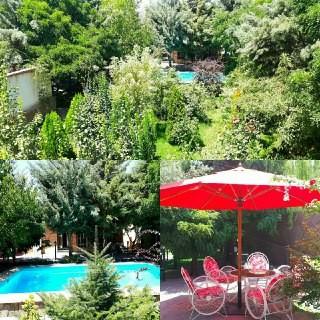 حومه شهر باغ و ویلای استخردار شیک و تمیز در کرج