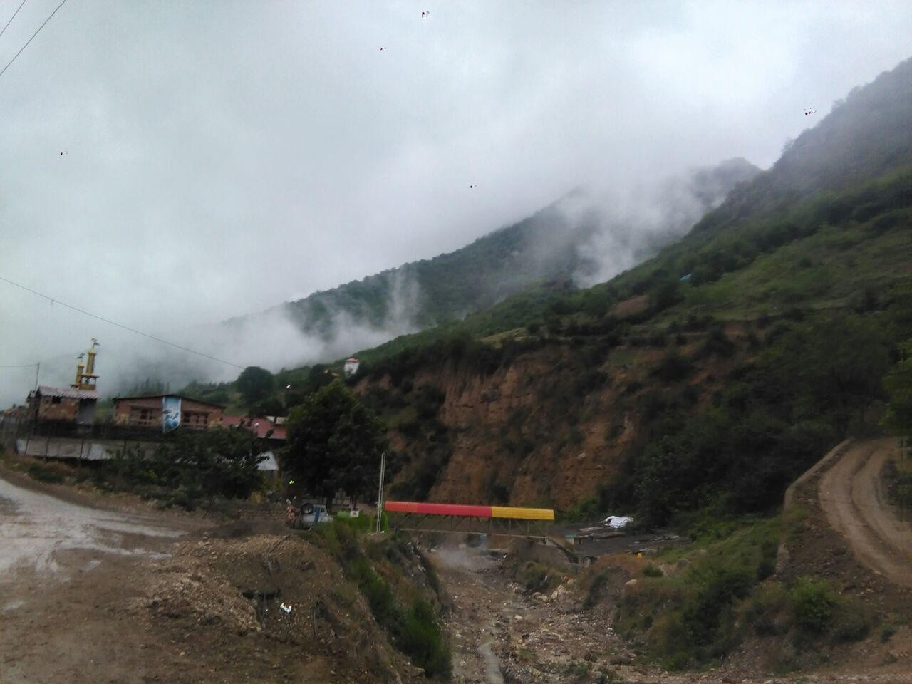 حومه شهر مزل مبله لوکس باچشم انداز زیبا در زیارت