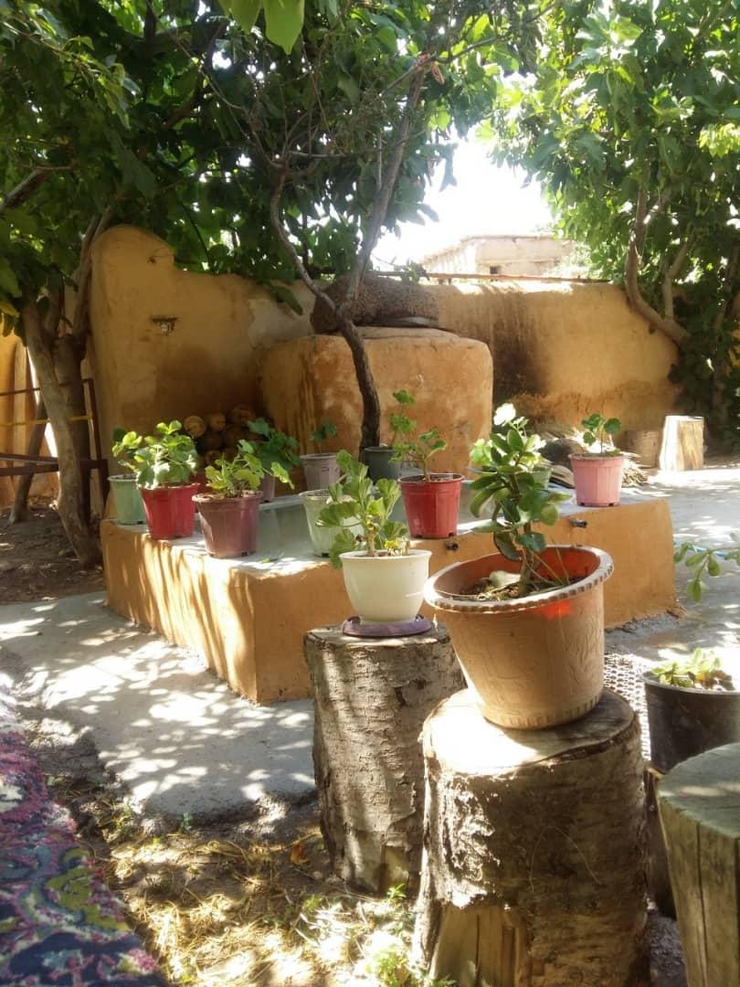 بوم گردی خانه سنتی در روئین اسفراین